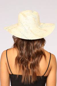 Painted For The Gods Sun Hat - Beige