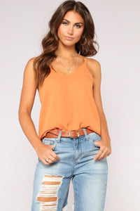Your Essential Cami - Rust