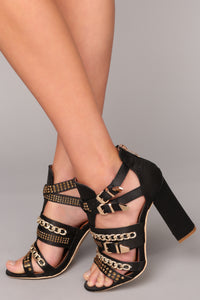 Almost Fell In Love Heel - Black Angle 2