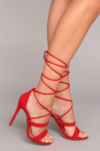 Back And Forth Forever Heel - Red