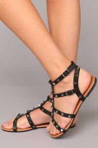 Roll With Me Sandal - Black