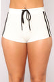 Tennis Champion Short Set - White/Black
