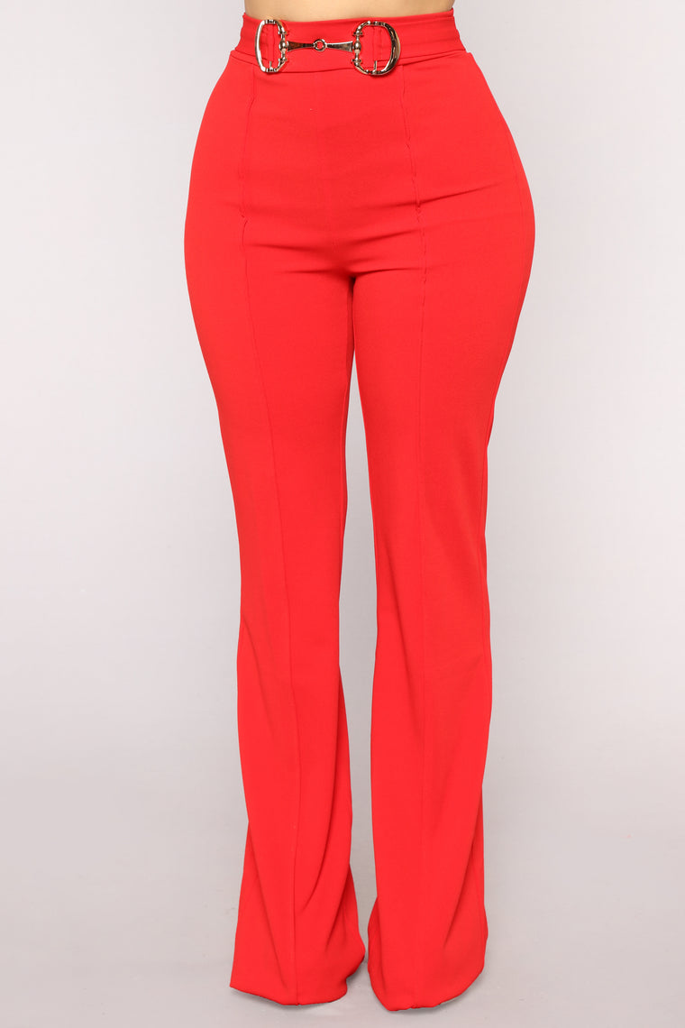 Aura Pants - Red