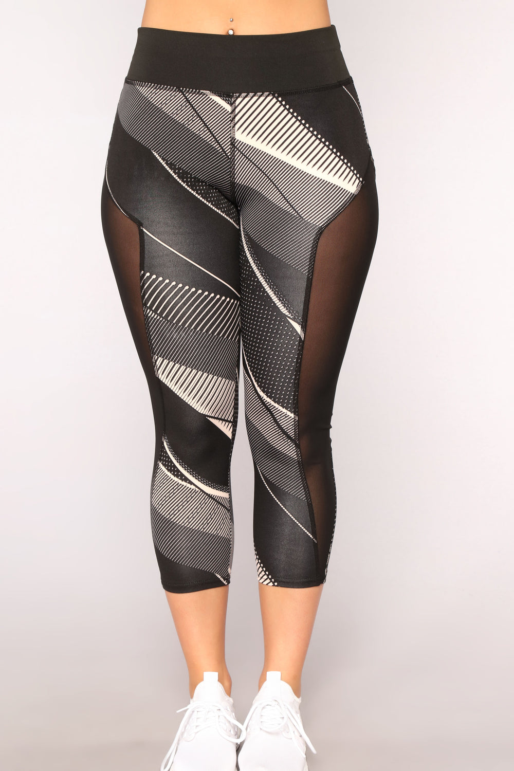 Don't Look Back Active Leggings - Black
