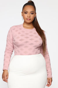 Edges That Scratch Bodysuit - Rose Angle 9