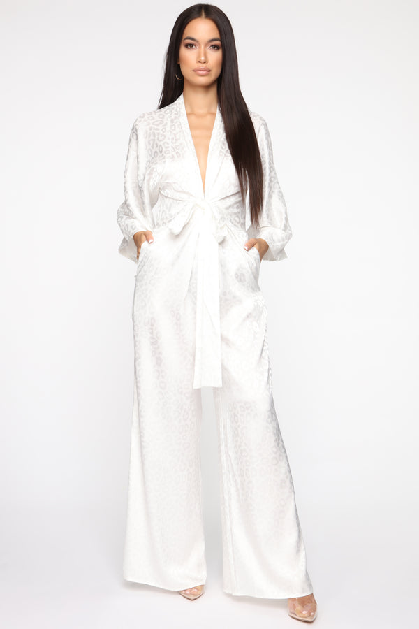 00f6498dbcc Walk All Over You Jumpsuit - Ivory