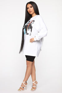 Ven Conmigo LS Top - White