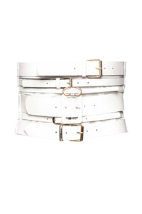 Her Perspective Belt - White