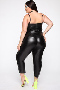 All My Leather Pants - Black Angle 10