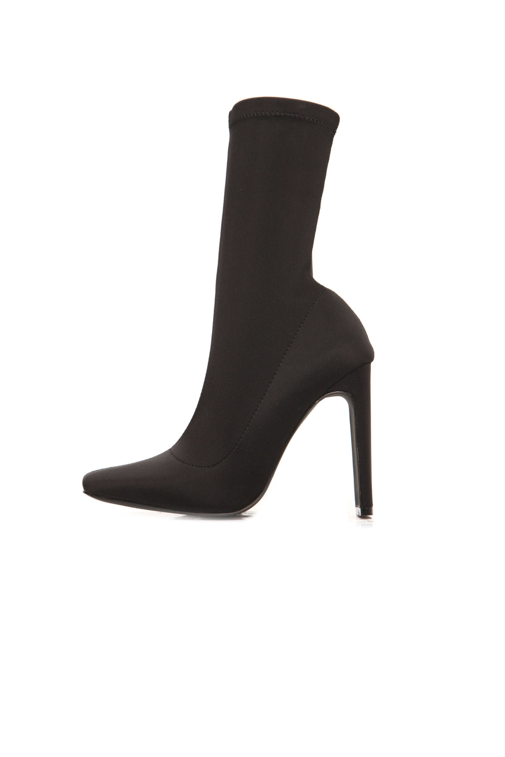 Can You Say Sleek Bootie - Black