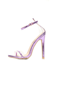 Take It Back Heel - Purple
