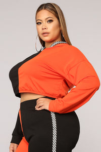 Let's Talk Active Set - Black/Orange