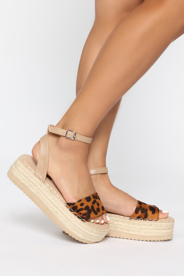 ec0abf59144f Found You Flat Sandal - Leopard