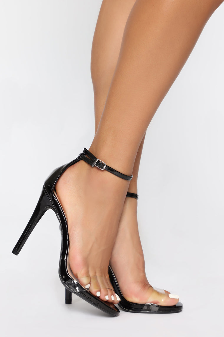 Flashing Lights Heel - Black