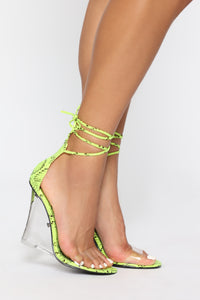 Magnetic Attraction Wedges - Green Snake