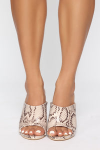 Step To It Heeled Sandal - Multi Snake Angle 1