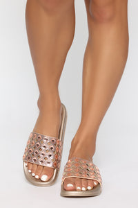 Treasure Sliders - Rose Gold