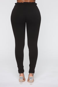 Just Keep It Comfy Joggers - Black Angle 6