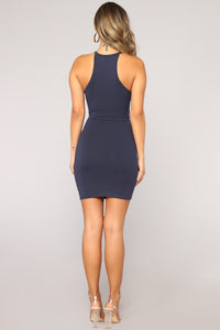 Perfect Summer Dress - Navy