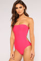 Summer Glowing Swimsuit - Fuchsia