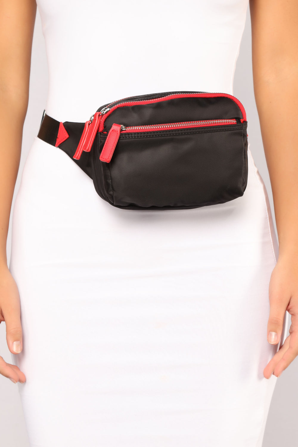 Nylon To A Better Place Fanny Pack - Black