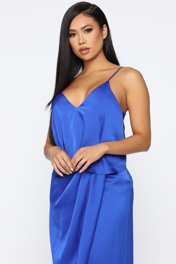 ce19bb0cdd On Top Of It All Maxi Dress - Royal
