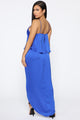 On Top Of It All Maxi Dress - Royal