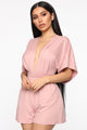 Brunch Please Romper - Mauve