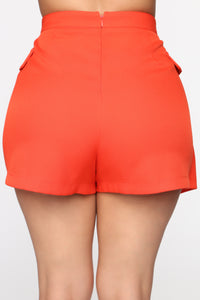 More To Come Skort Set - Tomato