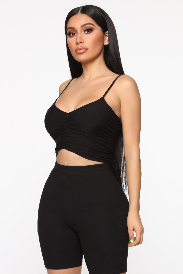 Take Your Breath Away Top - Black