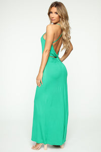 Put Your Love On Me Dress - Kelly Green