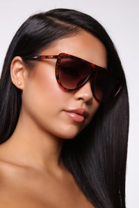 Jealous Much Sunglasses - Yellow/Brown