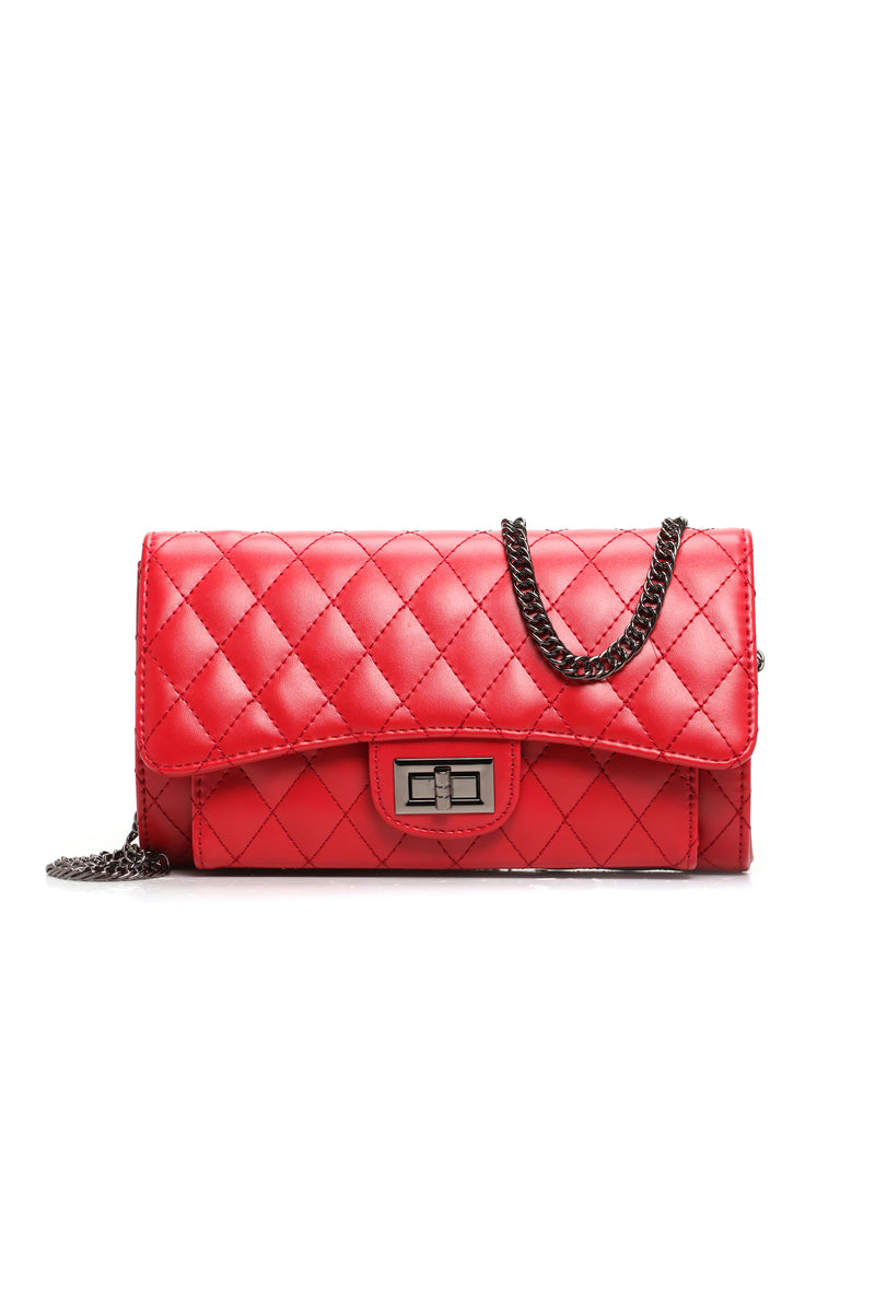 Cushion The Blow Crossbody - Red