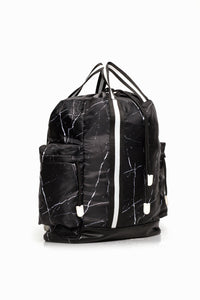 Rock Backpack - Black Marble