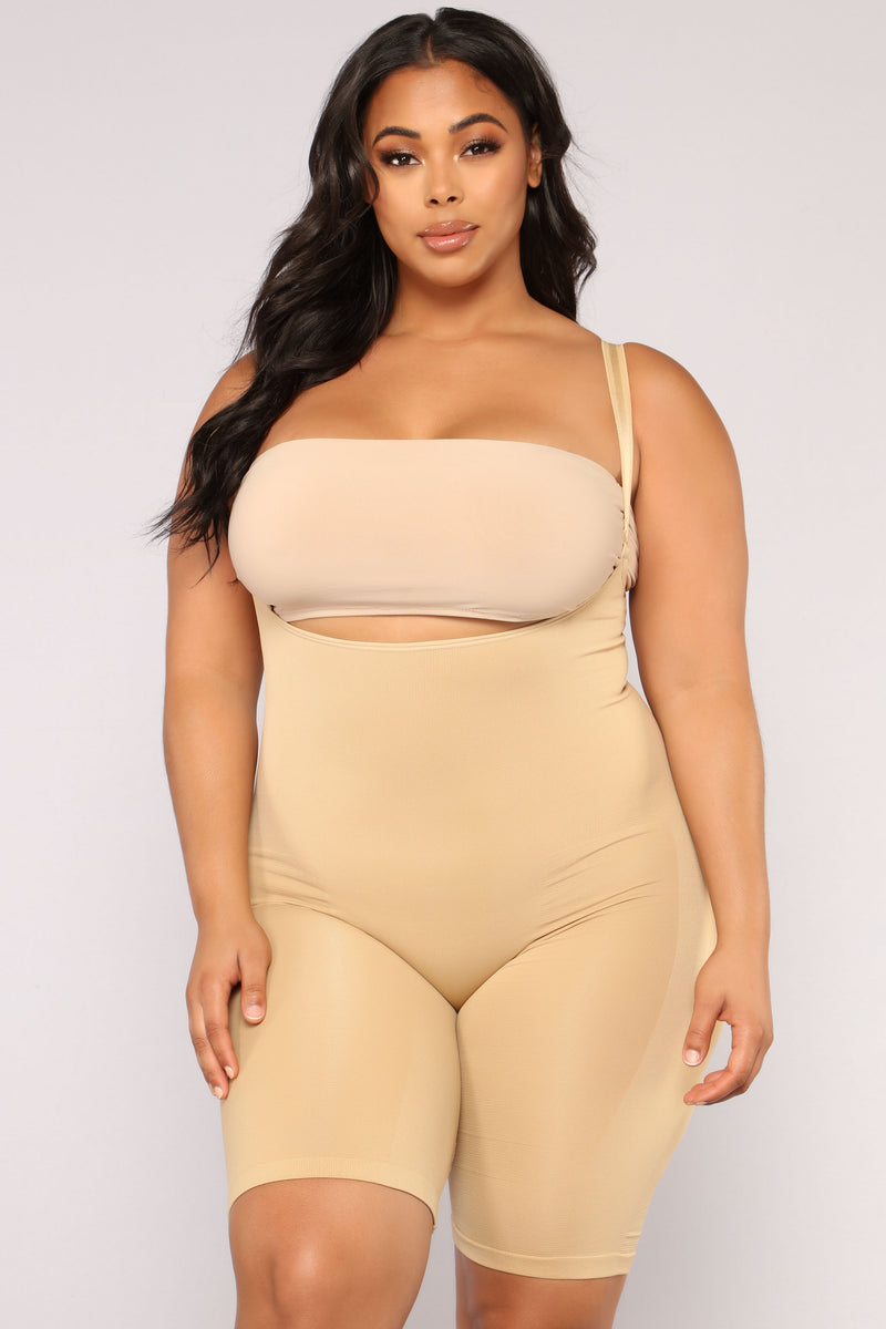 Sexy Silhouette Shapewear Shorts - Nude