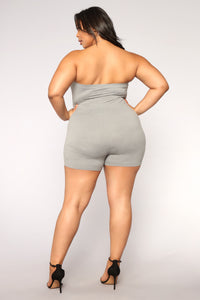 Buenos Aires Romper - Grey Angle 10