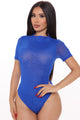 Get Me Bodied Mesh Bodysuit - Royal