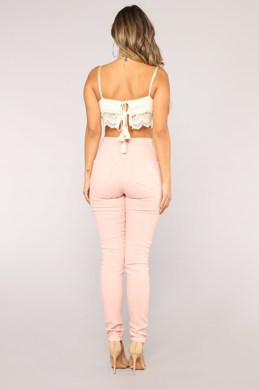 Blanched Jeans - Mauve
