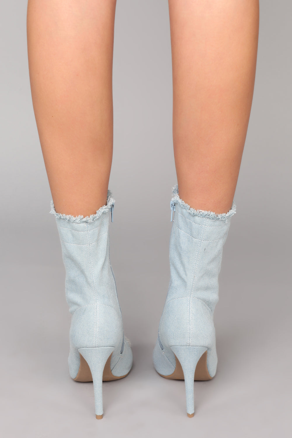 Denim Deal Bootie - Light Denim