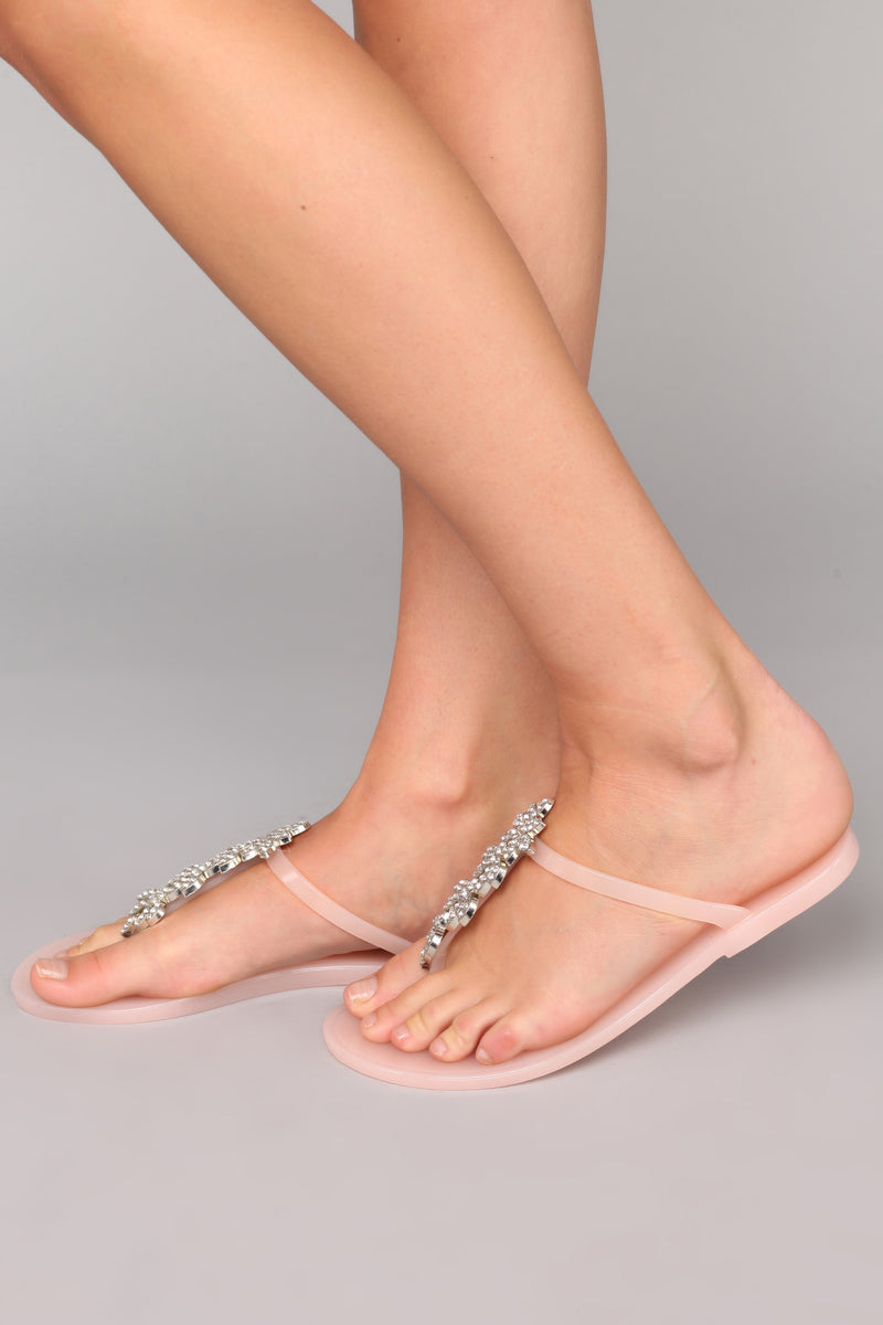 So Jelly Of Me Sandal - Nude