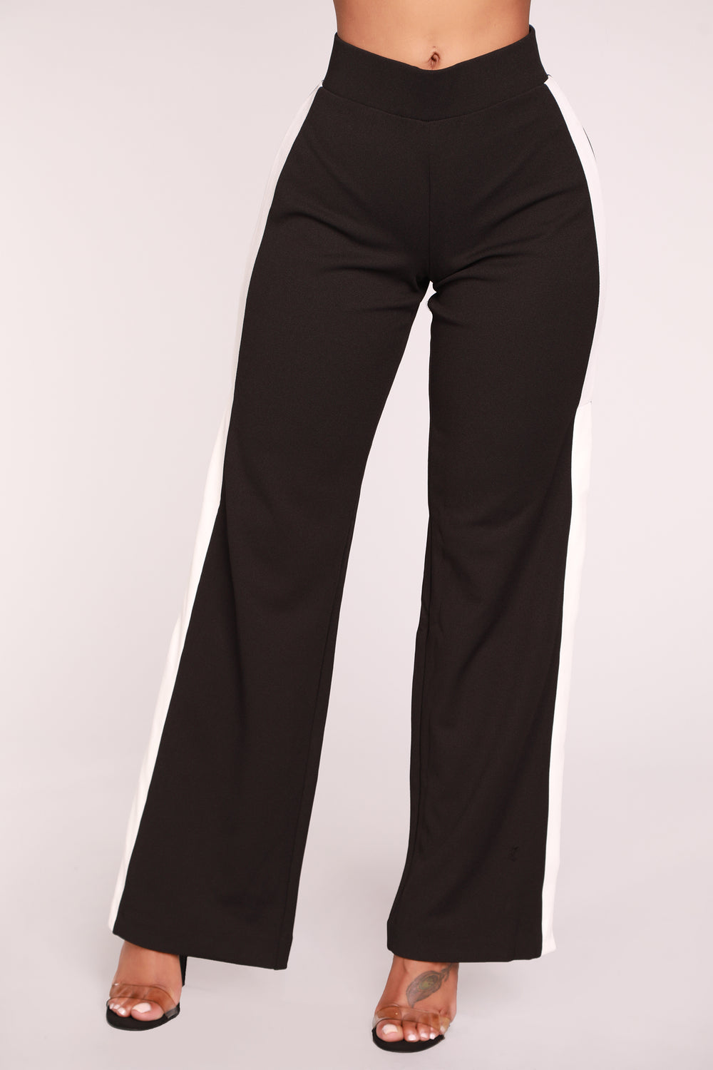 Snap Me Back Snap Pants - Black