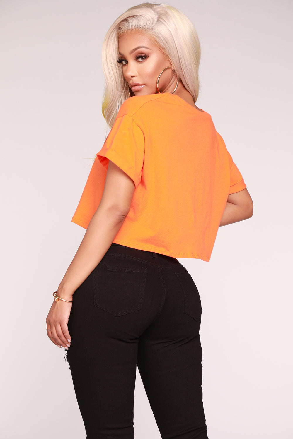 Your Competition Crop Top - Orange