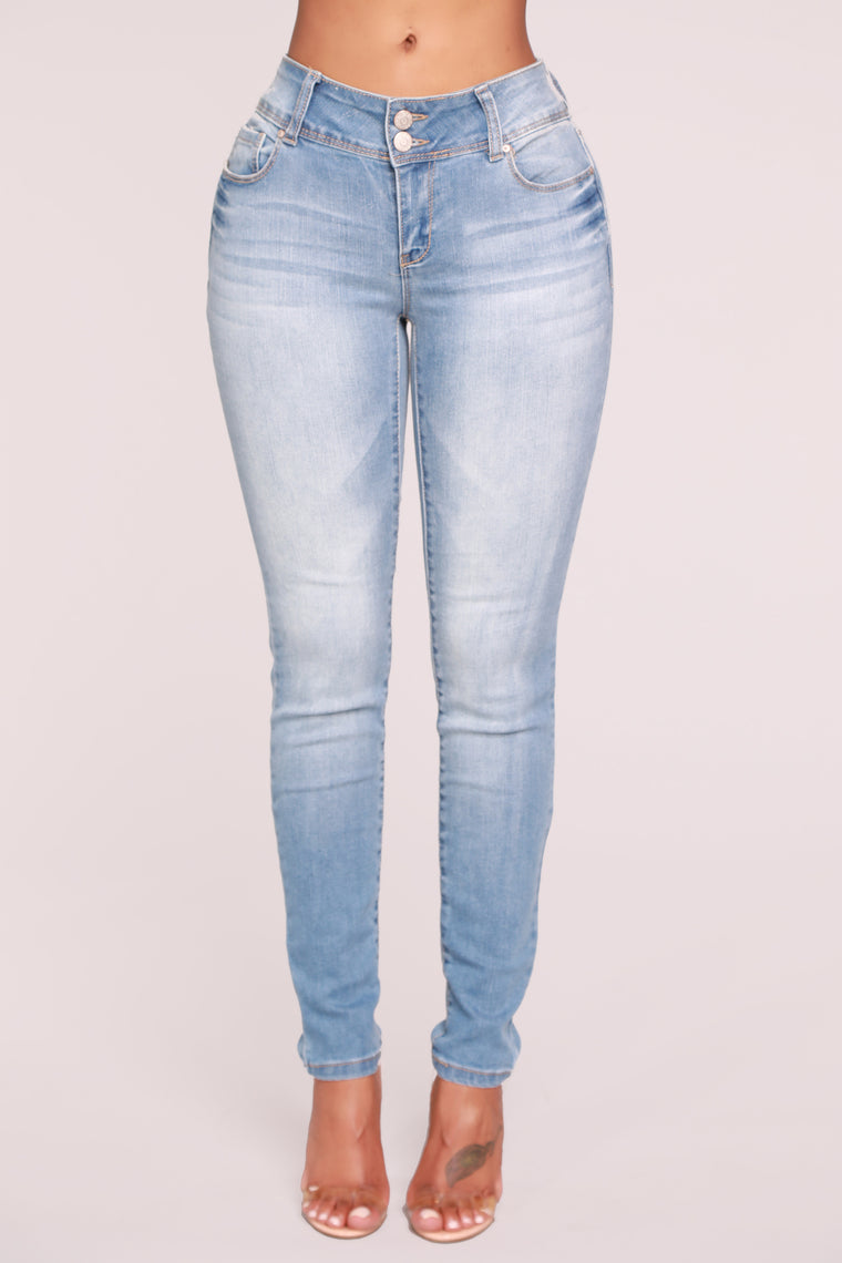 Every Day Skinny Jeans - Light Blue Wash