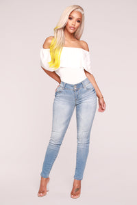 Happy Hour Bodysuit - Ivory