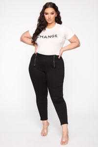 Make Change Bodysuit - White