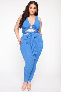Raeghan Pant Set - Royal