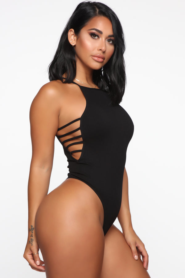 4bf870db2 A Night With You Seamless Bodysuit - Black