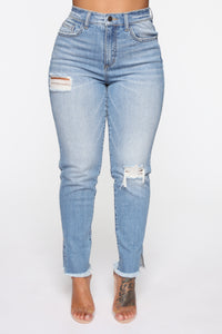 Don't Fight the Feeling Skinny Jeans - Medium Blue Wash