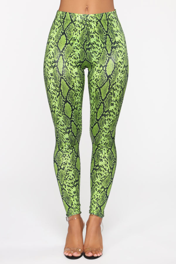 4409b8c5f28 Cold Hearted Leggings - Neon Yellow