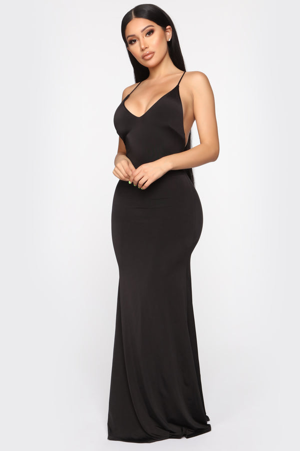 5cd73be70d2 With All My Heart Maxi Dress - Black